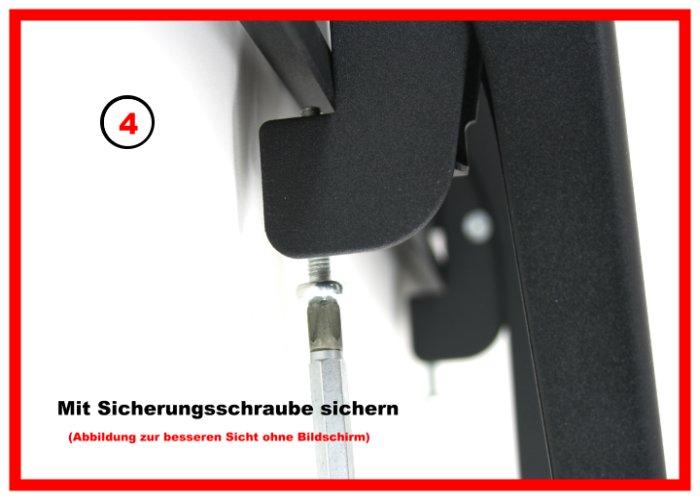 wandhalterung neigbar f r samsung ps64d8090 ps63c7790 ebay. Black Bedroom Furniture Sets. Home Design Ideas